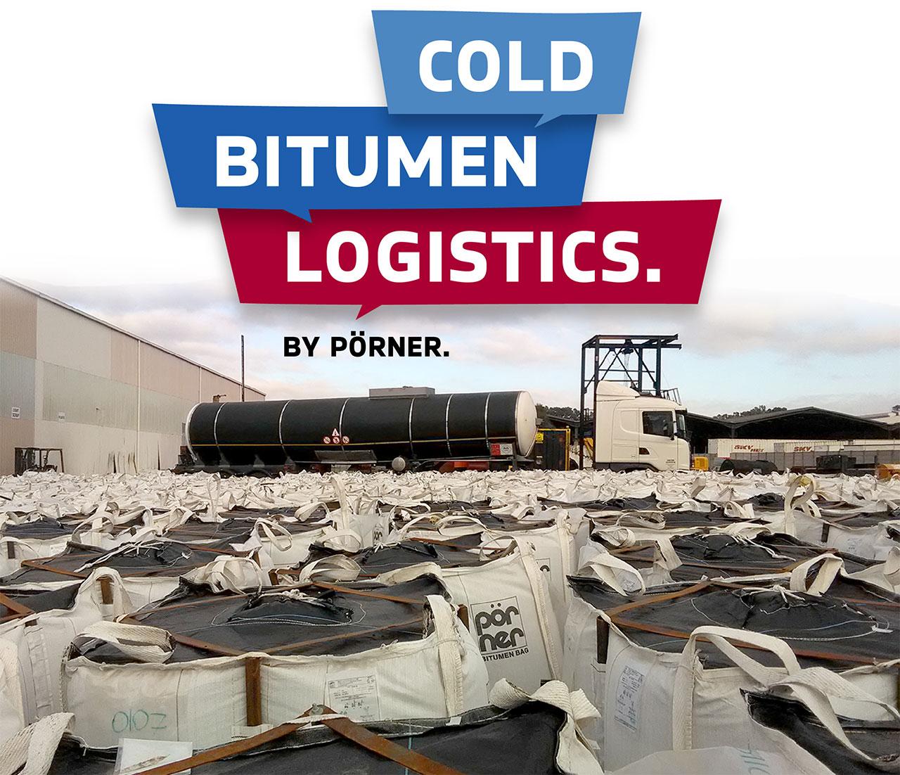 Pörner Cold Bitumen Logistics