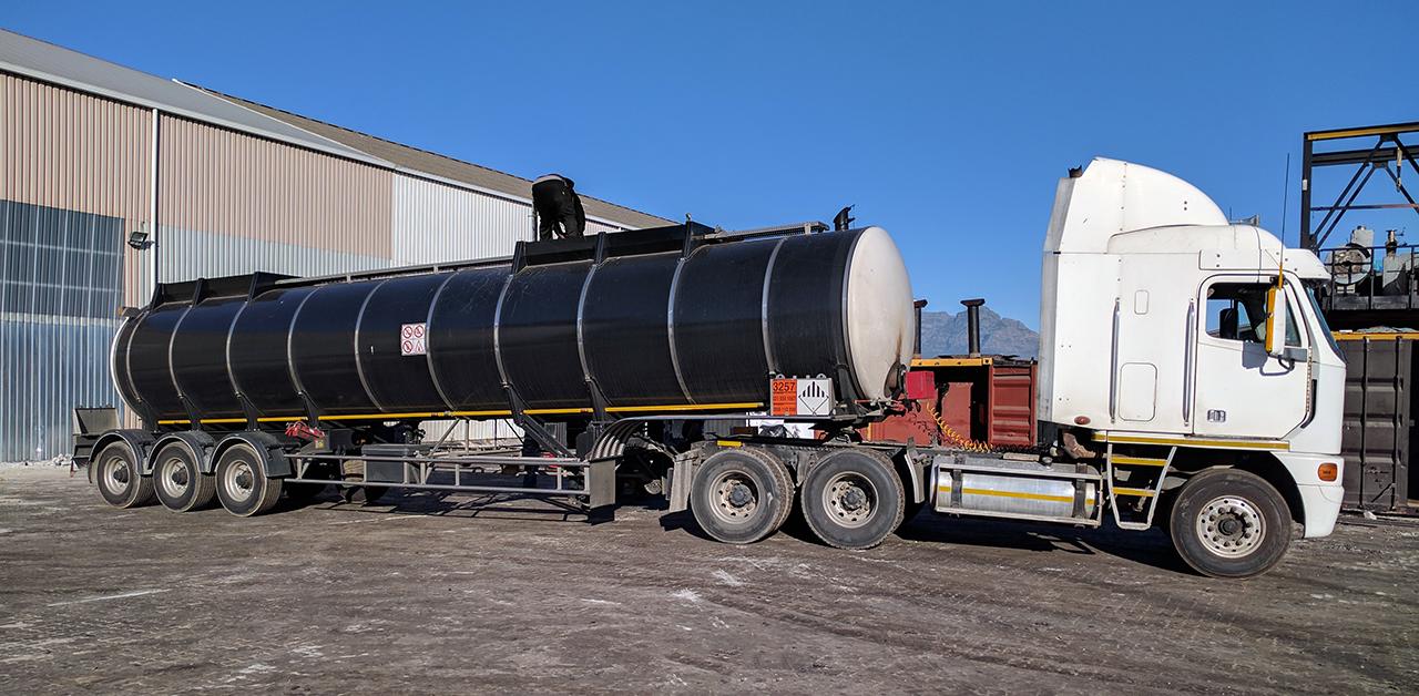 Pörner Bitumen Tanker