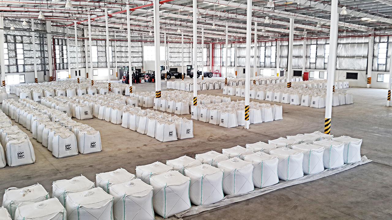 Pörner Bitumen Bag™ Packing Facility